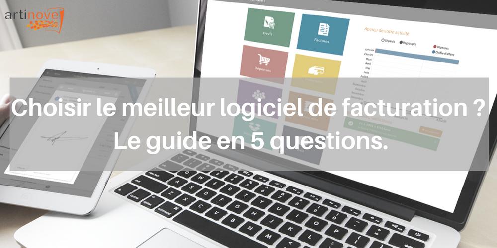 le meilleur logiciel de facturation le guide en 5 questions