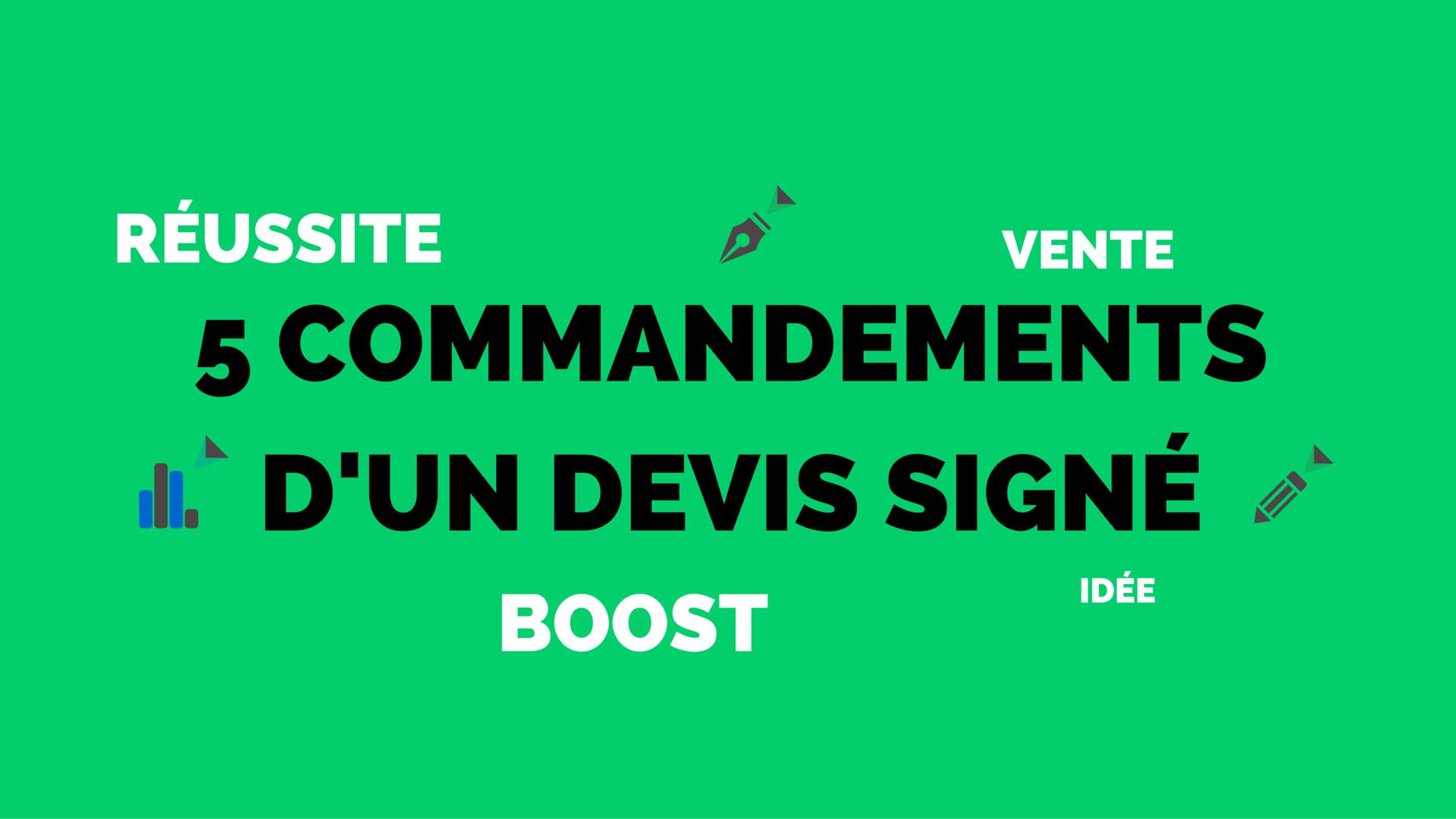 5-commandements-dun-devis-signé